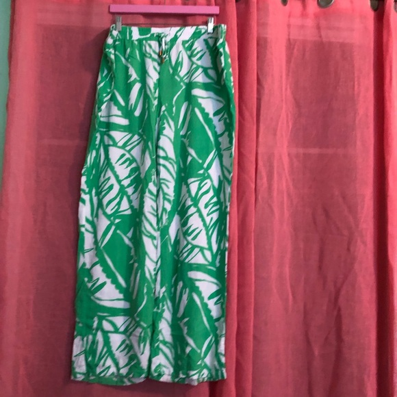 3b275e61d6 Lilly Pulitzer for Target Pants - Lilly Pulitzer for Target Tropical Leaves  Pants